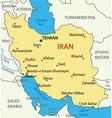 Islamic Republic of Iran - map