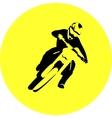 Motocross enduro rider vector image vector image
