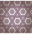 retro floral wallpaper vector image vector image