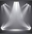 scene illumination transparent effects vector image vector image