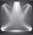 scene illumination transparent effects vector image