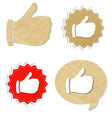 Set Best Choice Icon vector image vector image