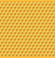 yellow honey pattern vector image