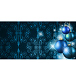 Elegant Merry Christmas background vector image