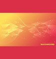abstract background with wavy lines and geometric vector image vector image