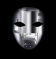 carnival metal mask vector image