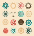 Esoteric icons set vector image vector image