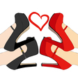 I love these shoes vector image vector image
