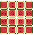 seamless melon pattern vector image