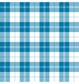 seamless tartan plaid pattern in tealish blue vector image