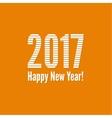 2017 Happy new yea vector image vector image