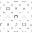 bag icons pattern seamless white background vector image vector image