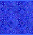 blue abstract seamless diagonal shape pattern vector image vector image