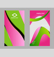 business cards template design vector image vector image