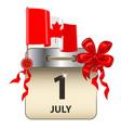 canada day calendar