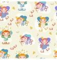 cartoon girls fairies vector image