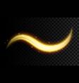 creative of golden light vector image