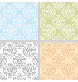 Ethnic seamless pattern collection vector image vector image