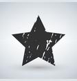 grunge star background grunge stargrunge star vector image