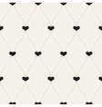 seamless retro patternBackground for Valentines vector image vector image