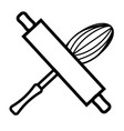 bakery icon vector image