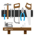 tool set vector image