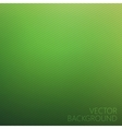 Abstract blurred unfocused green background vector image vector image