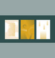 abstract broken lines backgrounds set vector image