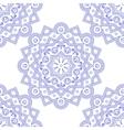 Blue Indian Vintage Ornament Blue mandala vector image vector image