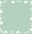 floral vintage beautiful seamless vector image vector image
