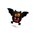 silly and cute halloween flying around vector image vector image