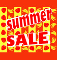 summer stickers with sale messages vector image vector image