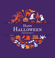halloween background with place for text vector image