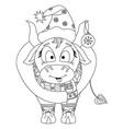 cute bull chinese new year 2021 year ox