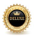 Deluxe Badge vector image vector image
