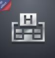 Hotkey icon symbol 3D style Trendy modern design vector image vector image