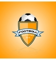 logo for a football team or a league vector image vector image