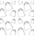 shopping bag pattern image vector image vector image