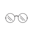Sunglasses icon outline vector image
