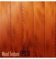 Realistic wood texture background vector image