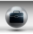 Briefcase icon Flat design vector image vector image