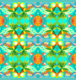 seamless geometric pattern decorative abstract vector image vector image