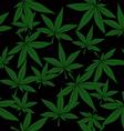 marijuana pattern vector image