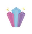 imagination mystery magic flat icon vector image
