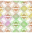Vintage ornamental seamless pattern vector image vector image