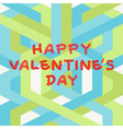 Valentines day hand drawing vector image