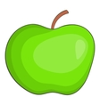 Apple icon cartoon style vector image vector image