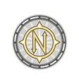 True North Compass Retro vector image vector image