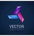 abstract element shape design icon vector image vector image