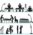 acupuncture professional treatment vector image